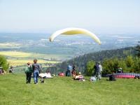 paragliding na Zvičině
